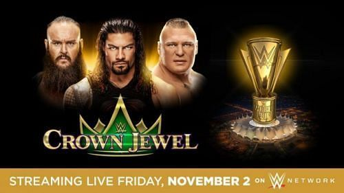 Crown Jewel will also feature a WWE World Cup