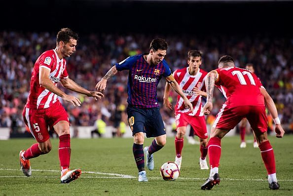 Lionel Messi Vs Girona Leo Sets New Record Sizzles And Scores In Hard Fought Draw