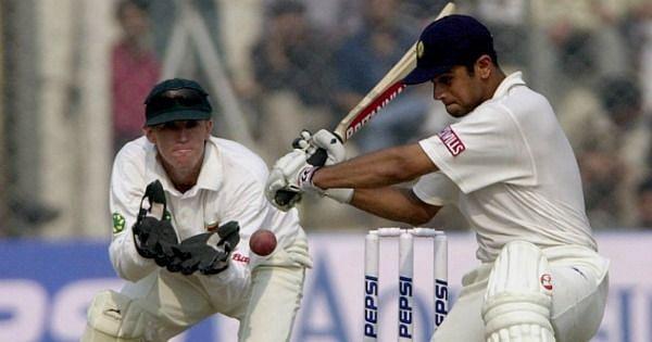 Dravid scored his maiden double century against Zimbabwe