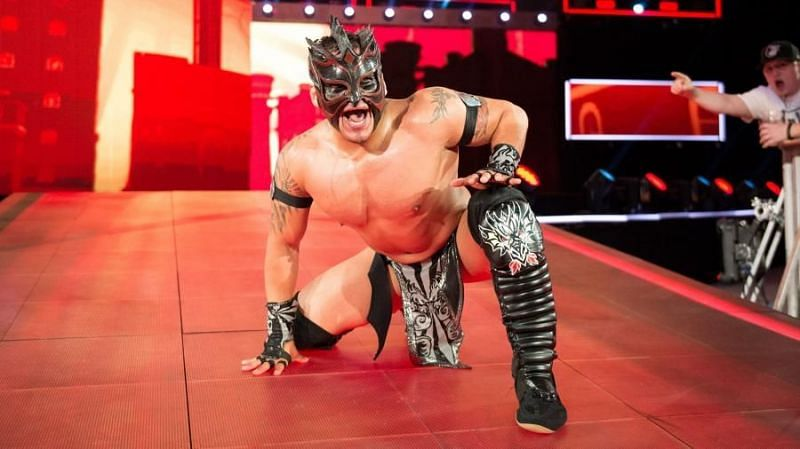 Luckily for Kalisto, his head hit the barricades instead of the ground