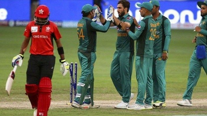 They were comprehensively beaten by Pakistan in their first match