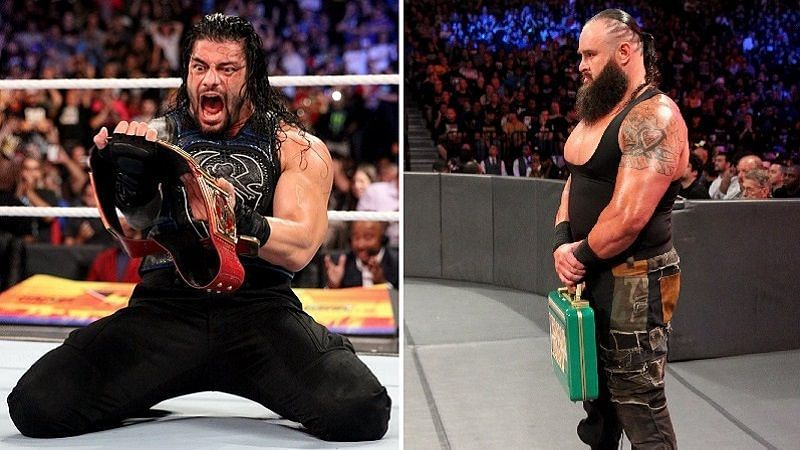 Image result for Braun Strowman turned heel so he could lose on his Money in the Bank cash-in