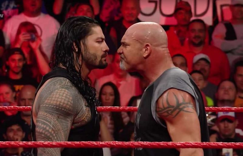 Could Reigns and Goldberg mix it up very soon indeed?