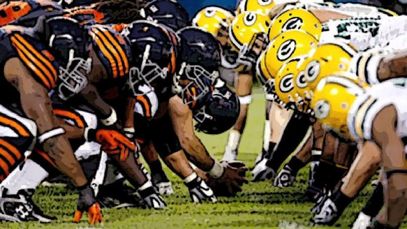 Image result for bears vs packers 2017
