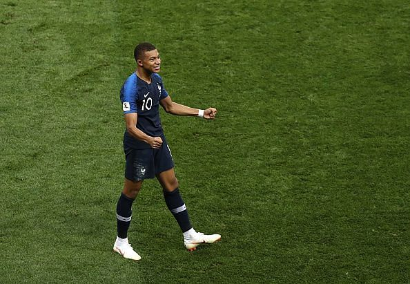 Mbappe recently became a World Cup winner at the age of 19