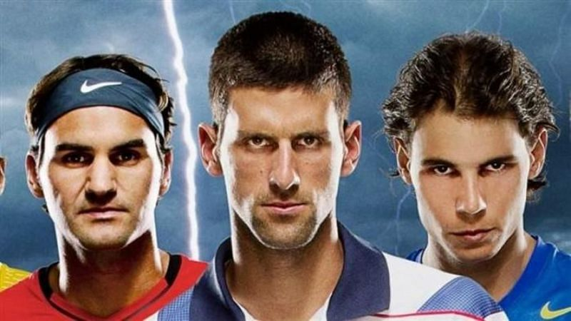 The Big Three are back on top of the ATP rankings
