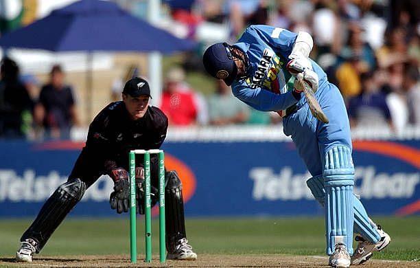 Srinath had his own technique of scoring runs