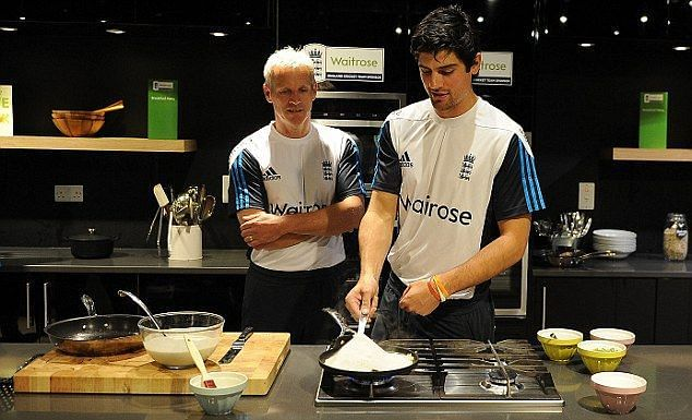Alastair Cook is a man of many talents