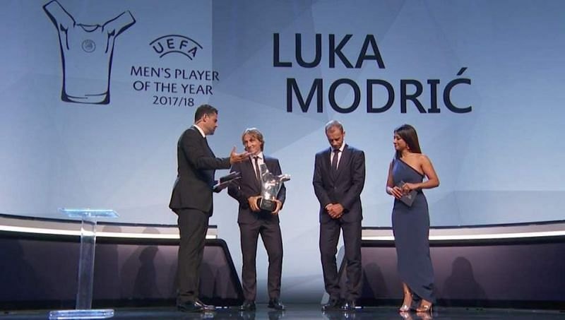 And the award goes to...Luka Modric