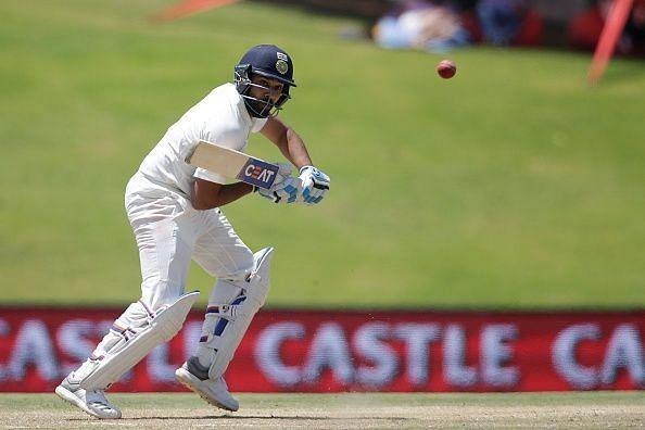 रोहित शर्मा दक्षिण अफ्रीका के खिलाफ टेस्ट सीरीज में खेले थे