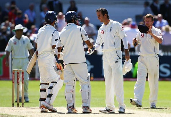 Second Test: England v India - Day Five