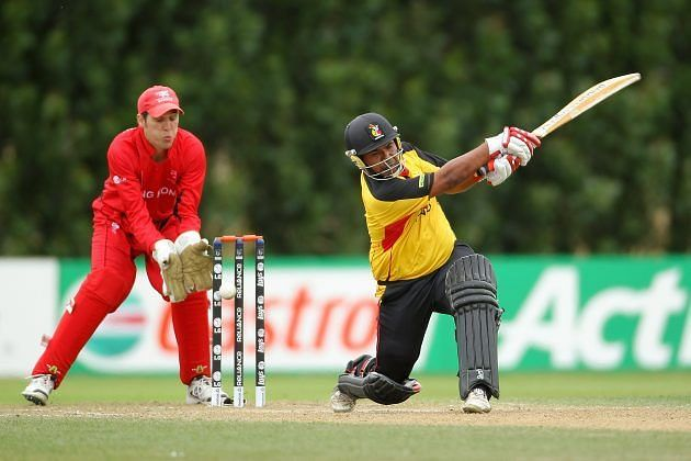 They scored 323 for four against Papua New Guinea