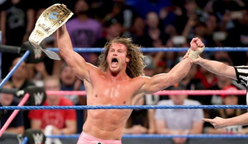 Dolph Ziggler beat The Miz to win the Intercontinental Title