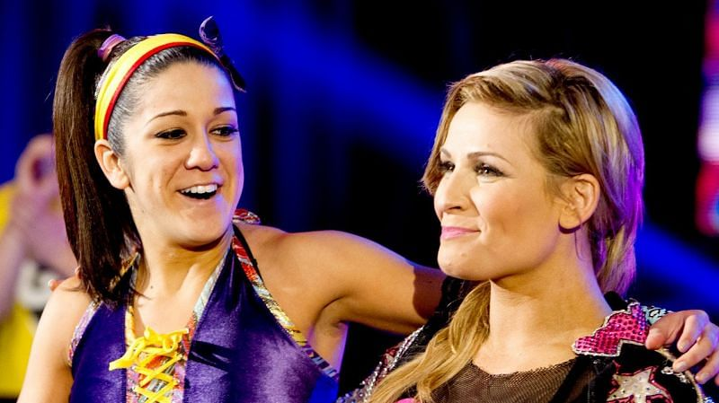 It took some time for the Divas to reach the top