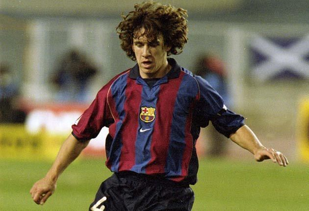 Image result for carles puyol young