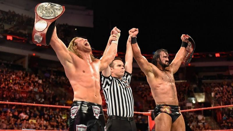 Can Ziggler and McIntyre find a way past Rollins and Ambrose?