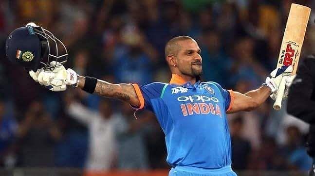 * Player of the Series - Shikhar Dhawan
