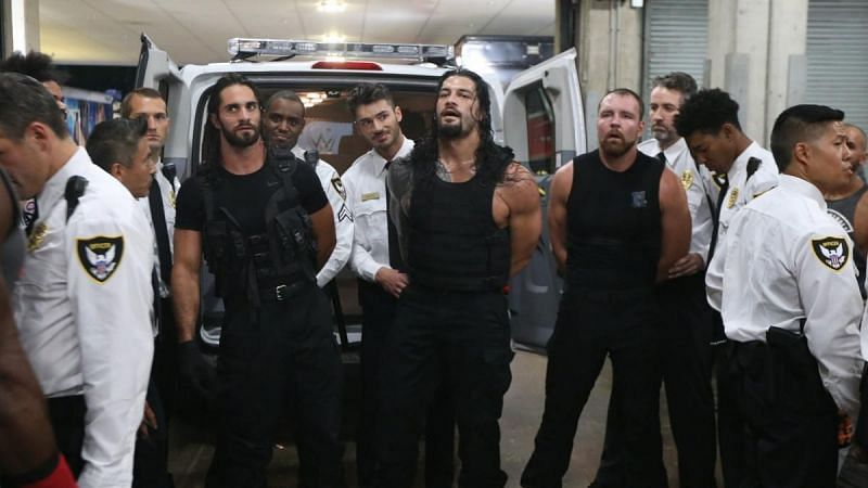 The Shield were arrested