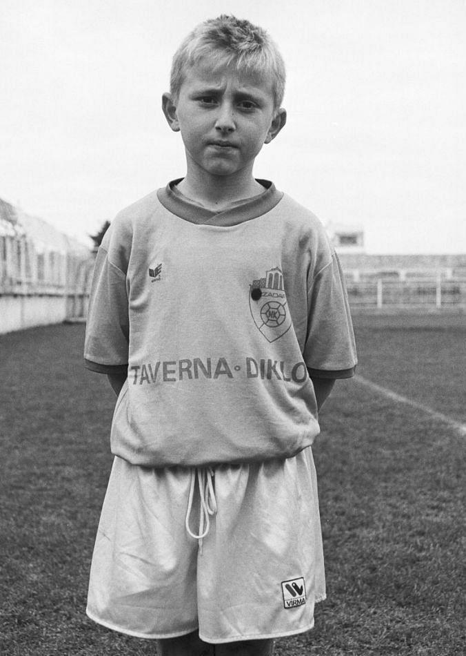 Modric in his early days - Zadar, Croatia