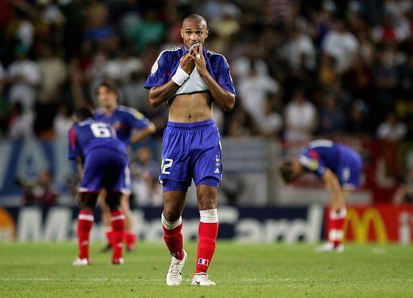 Euro 2004: France v Greece
