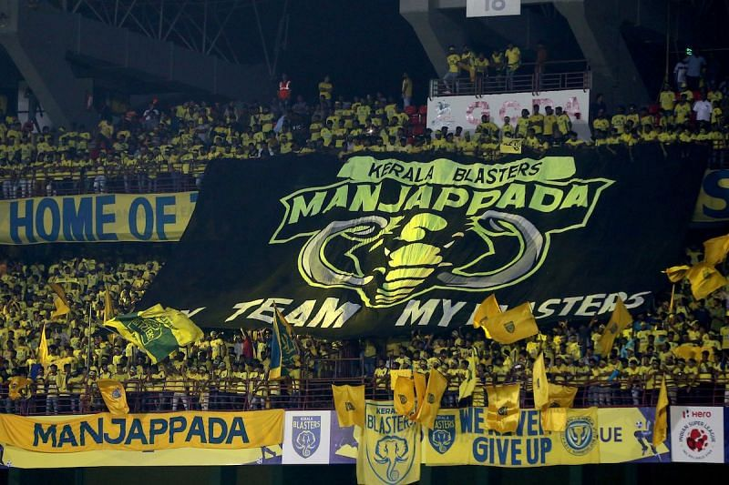 The Manjappada have a glaring reputation as the best fans in the country (Photo: ISL)