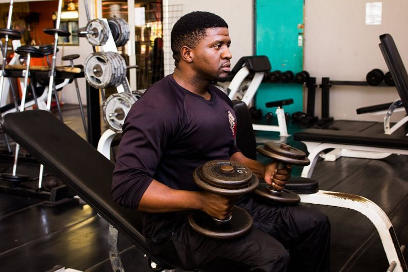 Shoulder exercises with weights are very effective in building muscle at a rapid pace