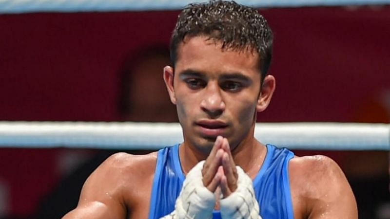 Amit Panghal beat reigning Olympic champion Hasanboy Dusmatov