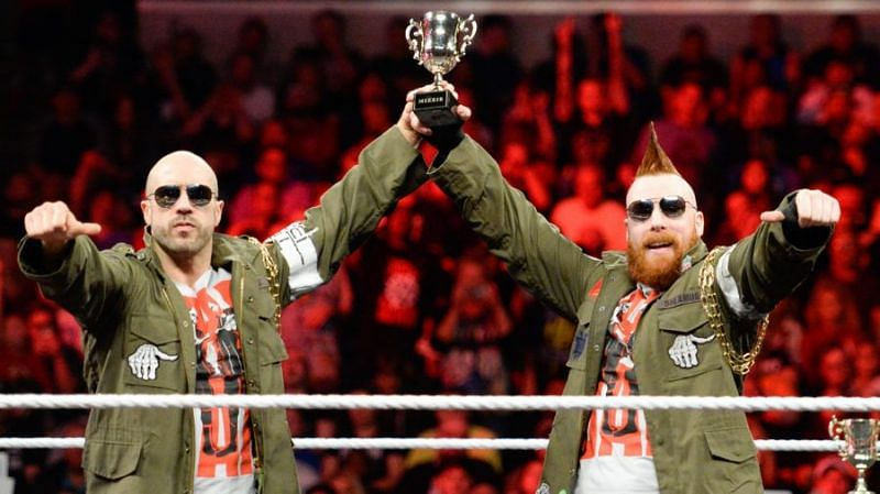 Cesaro and Sheamus will prove an interesting feud