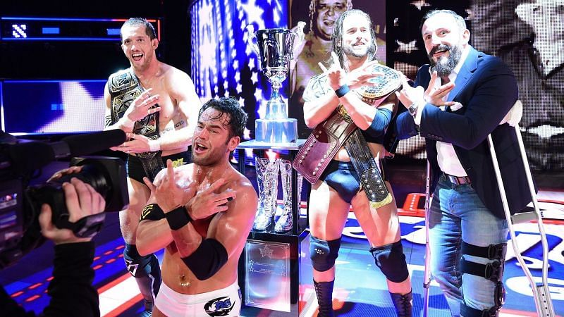 Image result for undisputed era and the shield