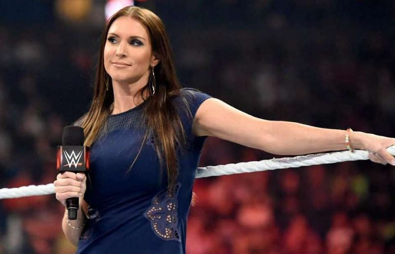 A feud with Stephanie McMahon would