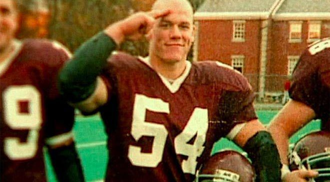 John Cena was a gifted football player at Springfield College