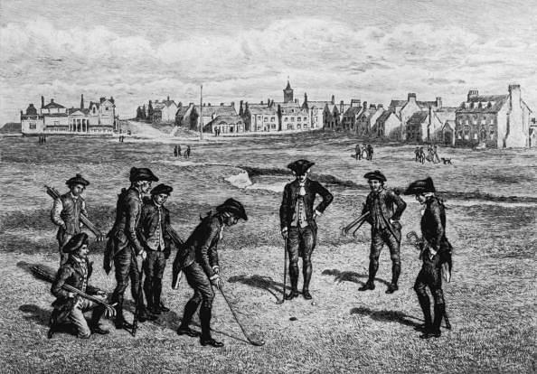 18th Century Golfers