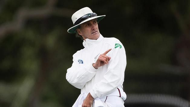 Billy Bowden is perhaps the most flamboyant umpire ever