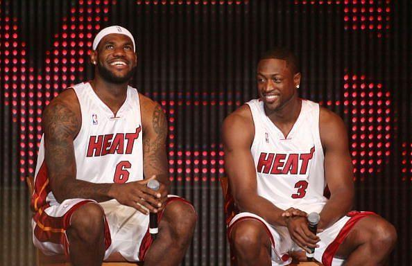 Miami Heat Introduce LeBron James, Chris Bosh And Dwyane Wade