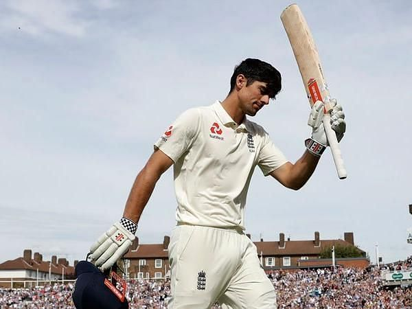 Cook after his final Test innings