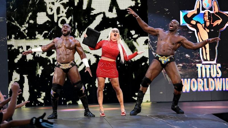 Dana Brooke has already left Titus Worlwide, will Apollo Crews soon follow her?