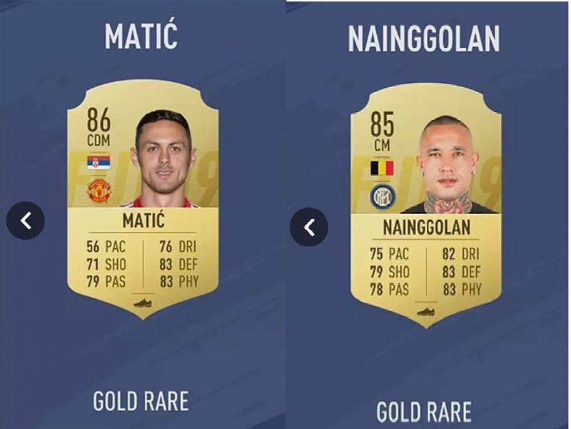 Matic vs Nainggolan