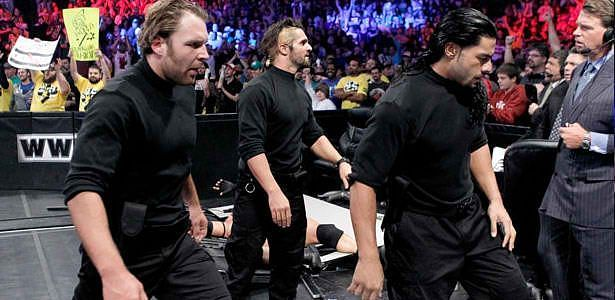 The Shield made their debut at Survivor Series 2012