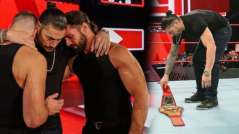 Roman Reigns dropped the Universal Title on Raw