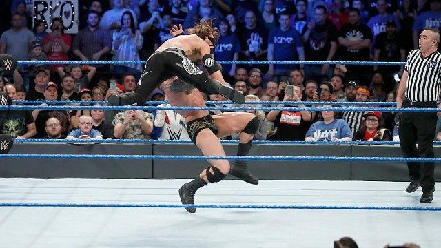 This would be a battle between two of Smackdown