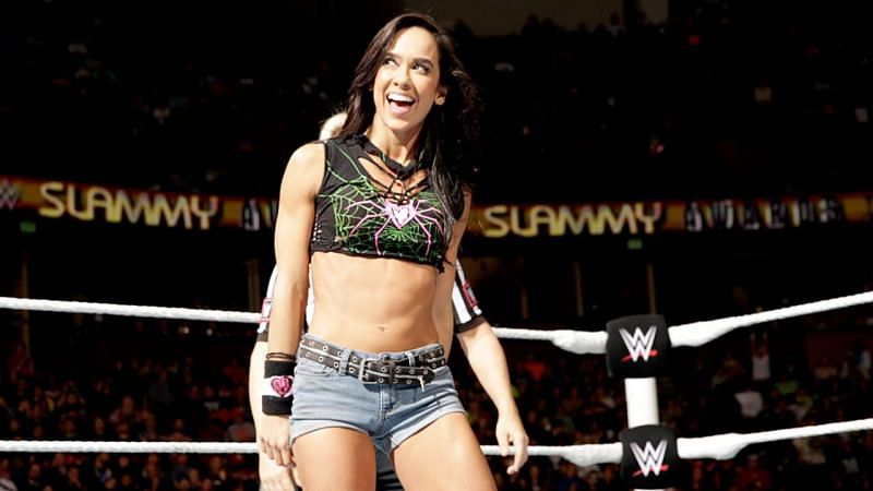 4 Of AJ Lee's Closest Friends From WWE