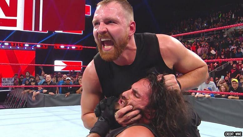 Ambrose surprised everyone on Raw