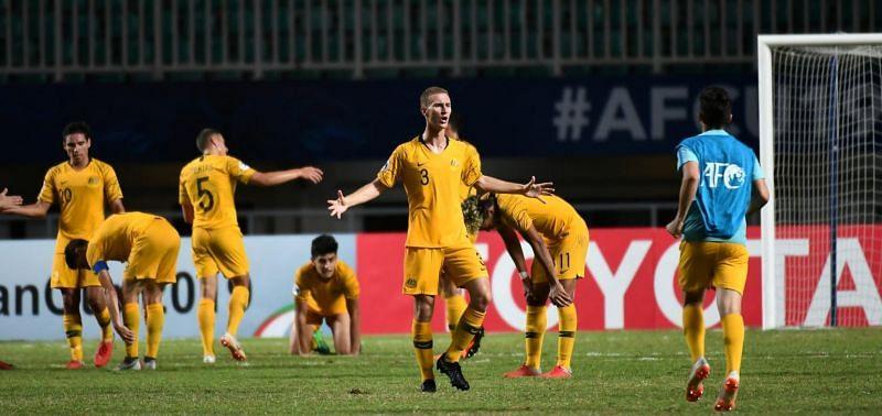 Socceroos delighted after their stern test against Jordan (Image courtesy: AFC)