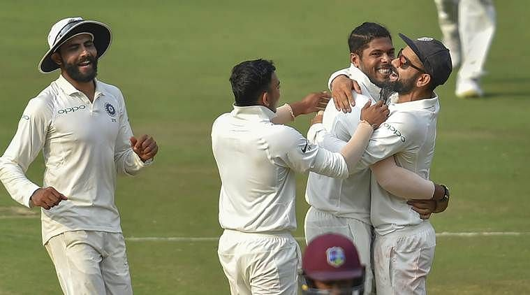 The Indian Test Team proved once again that it is unbeatable in home conditions