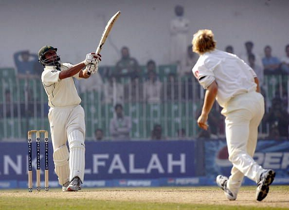 Afridi blasted the Indian bowlers en route to a racy fifty