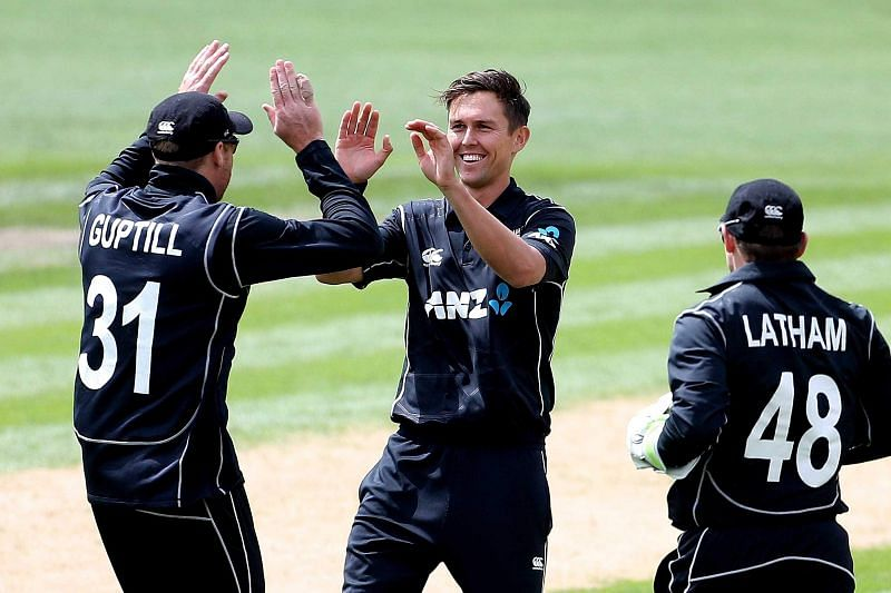 Image result for tim southee taking wicket in odi