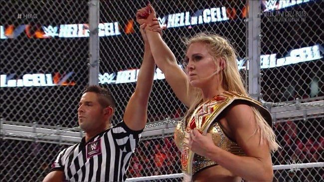 Charlotte was able to withstand Hell in a Cell
