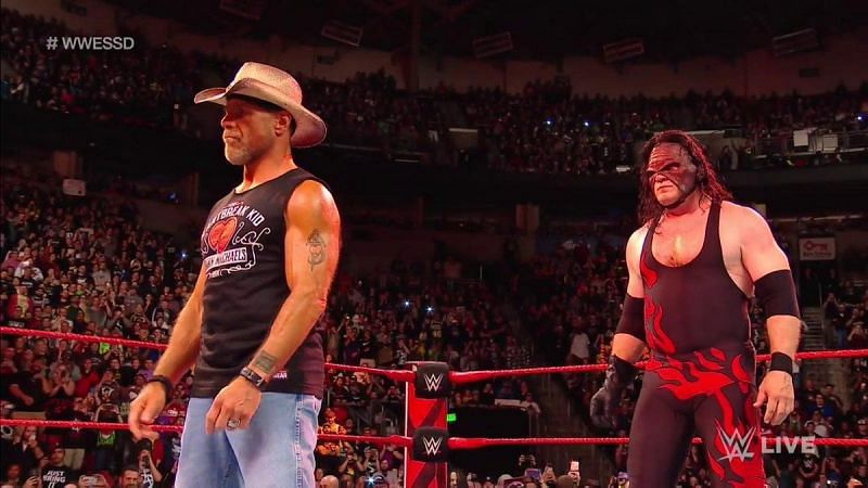 Kane with Shawn Michaels