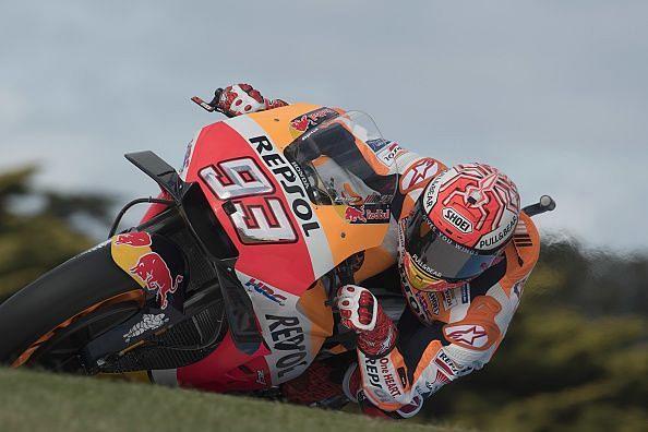 Marquez takes his fifth successive pole at Philip Island