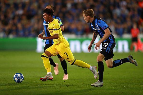 Sancho has been making the headlines at Dortmund